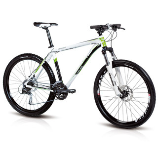Mountain bike 4EVER Red Hot disc brakes 2012 - Green