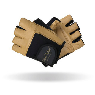 Fitness gloves Mad Max Natural