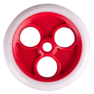 Rear wheel Spartan 230x33mm for scooter Jumbo 2 - White/Red