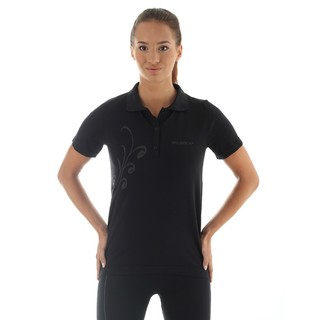 Women's functional T-shirt Brubeck PRESTIGE with collar