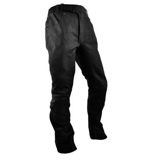 Leather moto pants Rebelhorn RUNNER - Black