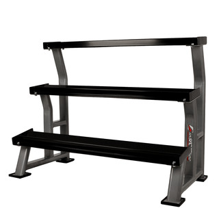 Three-Shelf Dumbbell Rack inSPORTline Profirack III