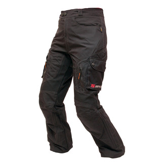 Unisex Motorcycle Trousers Spark Stream - Black