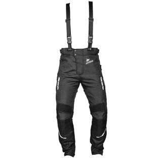 Textile moto trousers Rebelhorn THAR - Black
