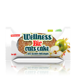 Bar Nutrend Bio Wellness Oats Cake, 50g
