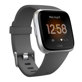 Smart Watch Fitbit Versa Lite Charcoal/Silver Aluminum