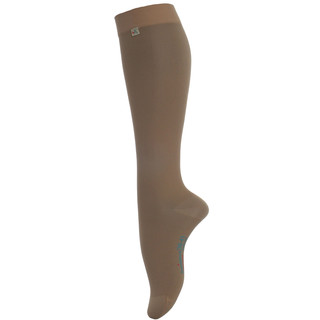 Women's compression knee-high socks ASSISTANCE Leg Care - Cashmere