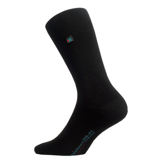 Socks ASSISTANCE - with elasthane - Black