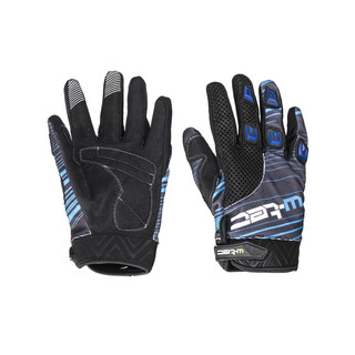 Moto Gloves W-TEC Heralt NF-5301 - Blue