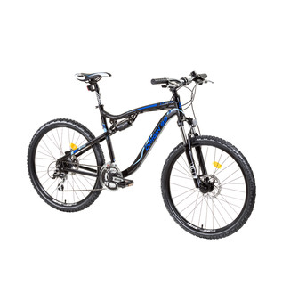 "Full-suspension bike DHS Origin99 2649 26"" - model 2015 - black-blue"