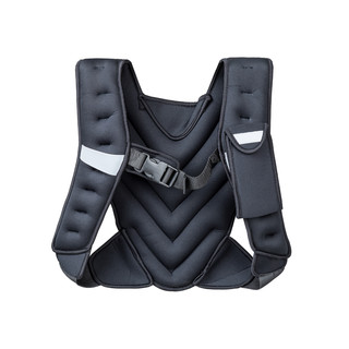 Weighted Vest inSPORTline Klaper 5 kg - Black