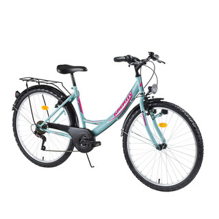 "Women's Trekking Bike Kreativ 2614 26"" - model 2016 - Blue"