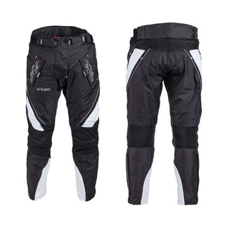Women's Moto Pants W-TEC NF-2683 - Black-White