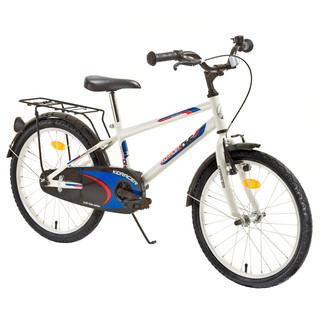 "Kids bike DHS Kid Racer 2001 20"" - model 2015 - White"