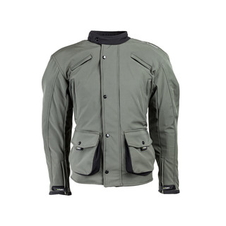 Men's Softshell Moto Jacket W-TEC NF-2709 - Green
