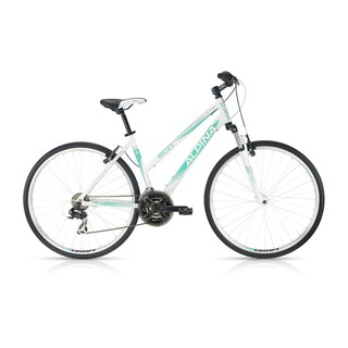 Women's Cross Bike ALPINA ECO LC10 White-Turquoise – 2016 Offer