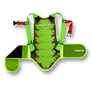 Children's back protector Hatchey Buddy Kids - green