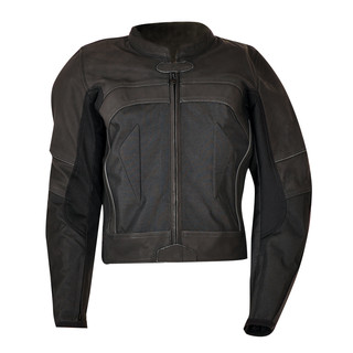 Leather Jacket Ozone Focus II - Black