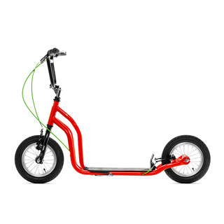 "Scooter Yedoo Ox 12 "" New - Red-Black"