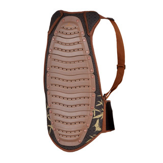 Spartan Back Protector - Brown