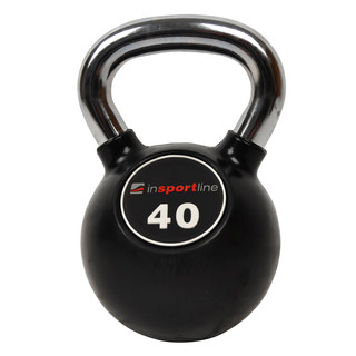 Rubber coated dumbell inSPORTline Ketlebel 40 kg