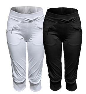 Ladies elastic 3/4 pants ALEA