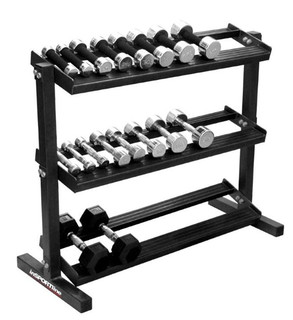 Stand an  Hex dumbbells inSPORTline