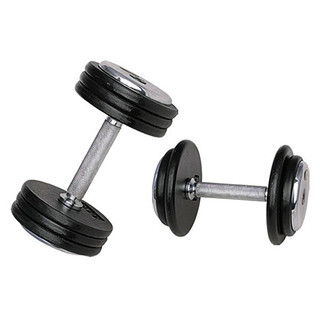 Single-Handed Dumbbell inSPORTline ProfiST 17.5 kg