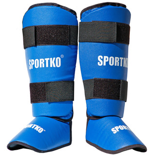 Shin Instep Guards SportKO 331 - Blue