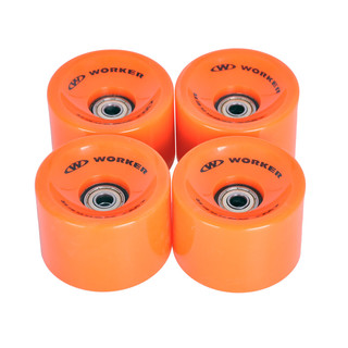 Wheels for longboard 60*45mm with Bering ABEC 7 – 4 pcs