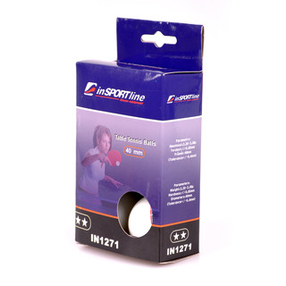 inSPORTline 2 Star Table Tennis Balls