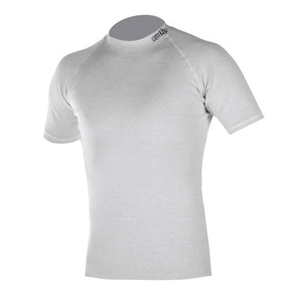 Thermo-shirt short sleeve Blue Fly Termo Duo - White