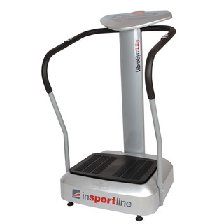 VibroGym inSPORTline Lilly Vibration Machine - Silver