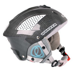 WORKER Snow HI-FI Helmet - Carbon