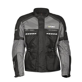 Moto Jacket W-TEC Cronus - Black-Grey