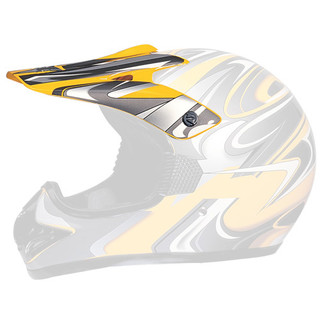 Replacement Visor for WORKER MAX 606-1 Helmet - Yellow