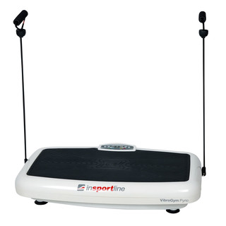 inSPORTline Pyrio Vibration Machine - White