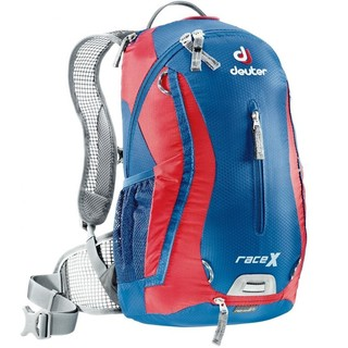 Cycling Backpack DEUTER Race X 2016 - Blue-Red