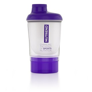 Shaker Nutrend with Dispenser 300ml - Purple