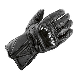 Leather Gloves Ozone Ride - Black