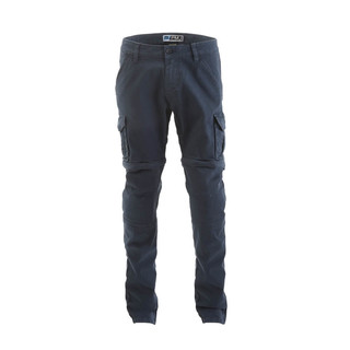 Men's Motorcycle Pants PMJ Santiago Zip - Blue
