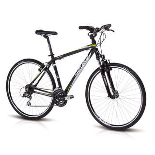 Cross Bike 4EVER Shadow 2013 - Black-Green
