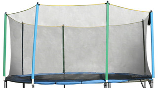 Safety net without tubes 430 cm 4 leg