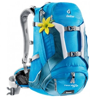 Cycling Backpack DEUTER Trans Alpine 26 SL 2016 - Bright Blue