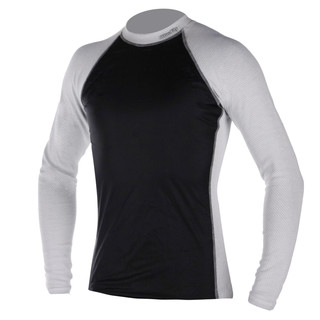 Thermo-shirt with a windbreaker Blue Fly Termo Duo Wind - White