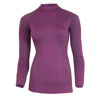 Women's functional T-shirt Brubeck THERMO short-sleeve - Purple