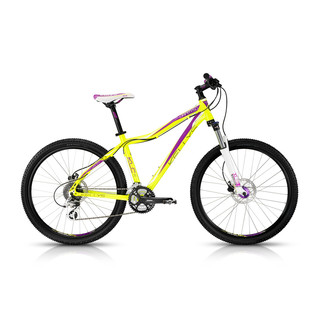 Woman Mountain Bike KELLYS Vanity 50 - 2015 - Yellow-Violet