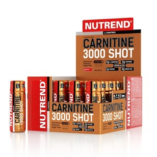 Nutrend Carnitine 3,000 SHOT 20x60ml