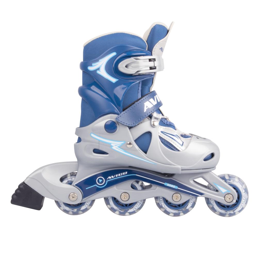 Roller skates adjustable - Adjustable Inline Skates Worker Juny Blue Blue Adjustable Inline Skates