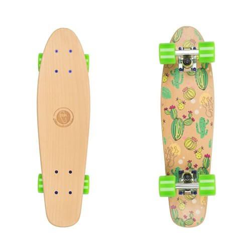 d28229119 Penny Board Fish Classic Wood - inSPORTline